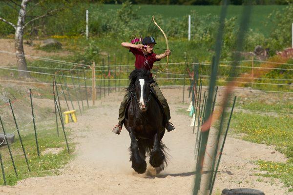 Nurmolandia Horseback Archery Junior Cup 2021